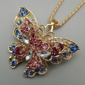 Betsey Johnson necklace - Butterfly